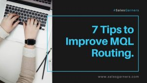 Read more about the article 7 Tips to Improve MQL Routing.
